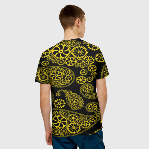 Мужская футболка 3D  Фото 02, Огурцы механика