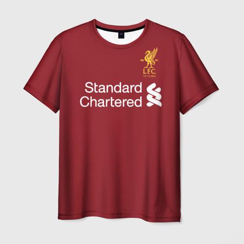 Мужская футболка 3D Ливерпуль Фото 01
