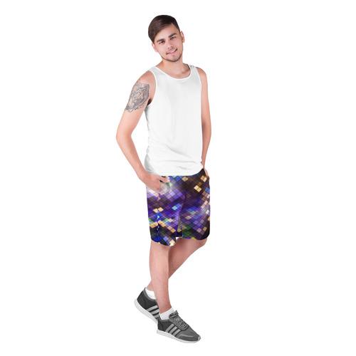 Мужские шорты 3D  Фото 03, Геометрия клеток