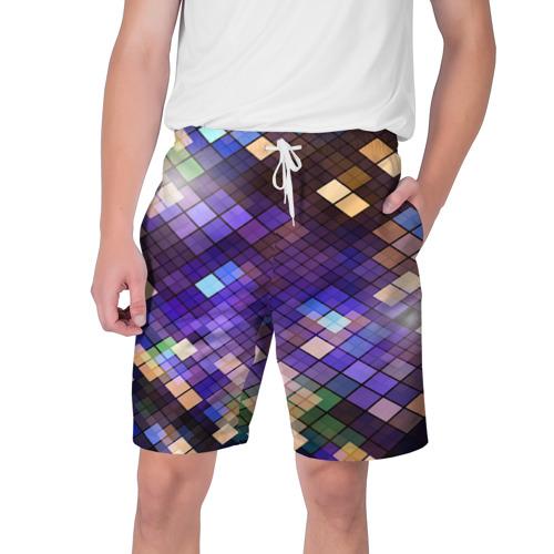 Мужские шорты 3D  Фото 01, Геометрия клеток
