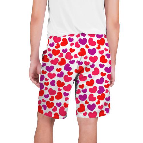 Мужские шорты 3D  Фото 02, Сердца