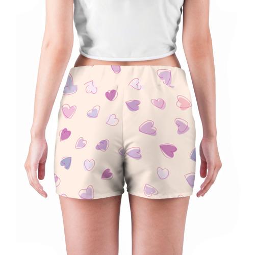 Женские шорты 3D  Фото 04, Heart