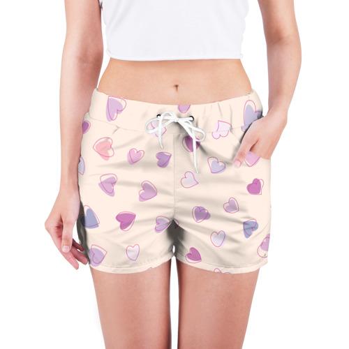 Женские шорты 3D  Фото 03, Heart