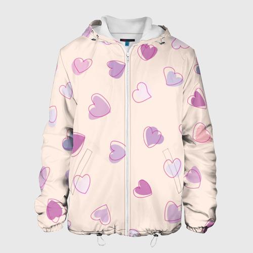 Мужская куртка 3D  Фото 01, Heart