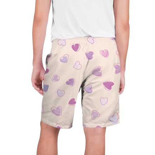 Мужские шорты 3D  Фото 02, Heart