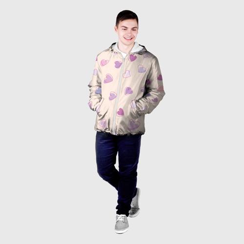 Мужская куртка 3D  Фото 03, Heart