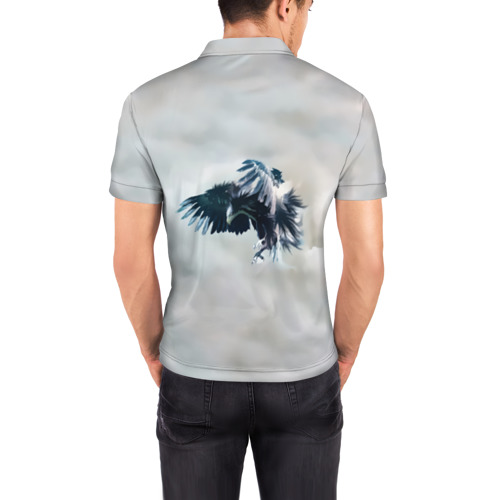 Мужская рубашка поло 3D  Фото 04, Орлиная атака