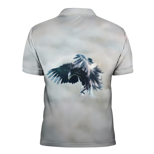 Мужская рубашка поло 3D  Фото 02, Орлиная атака