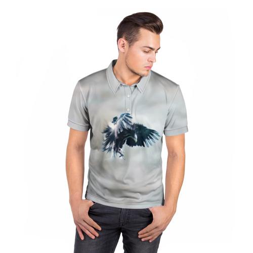 Мужская рубашка поло 3D  Фото 05, Орлиная атака