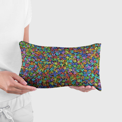 Подушка 3D антистресс  Фото 03, Алфавит