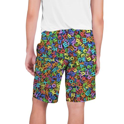 Мужские шорты 3D  Фото 02, Алфавит