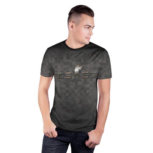 Мужская футболка 3D спортивная  Фото 03, CS GO