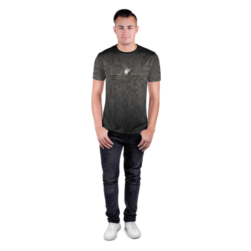 Мужская футболка 3D спортивная  Фото 04, CS GO