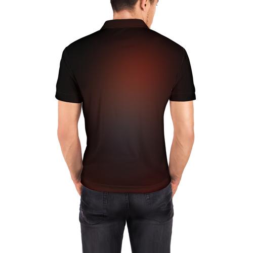 Мужская рубашка поло 3D  Фото 04, Guns