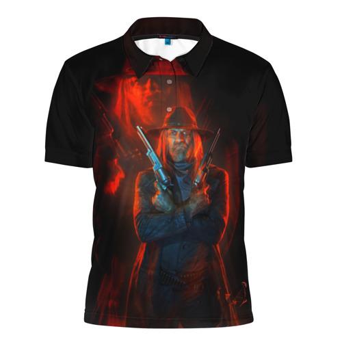 Мужская рубашка поло 3D  Фото 01, Guns