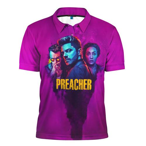 Мужская рубашка поло 3D  Фото 01, Preacher
