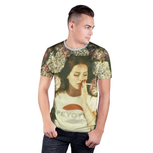 Мужская футболка 3D спортивная Lana Del Rey Фото 01