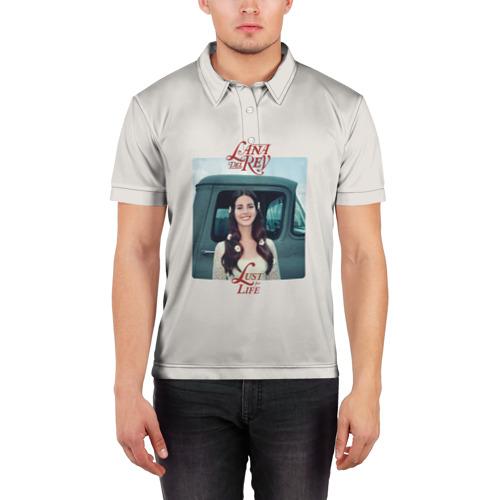 Мужская рубашка поло 3D  Фото 03, Lana Del Rey