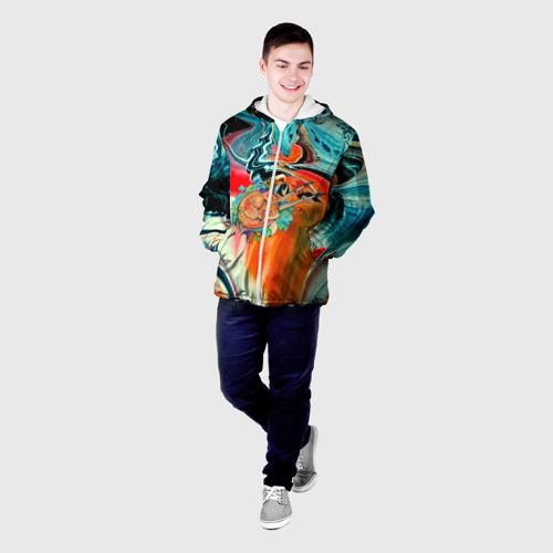 Мужская куртка 3D  Фото 03, Лиса художник