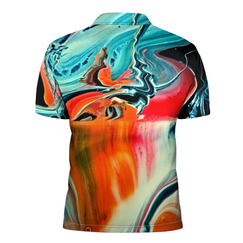 Мужская рубашка поло 3D  Фото 02, Лиса художник