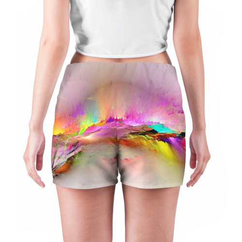 Женские шорты 3D  Фото 04, Краски неба