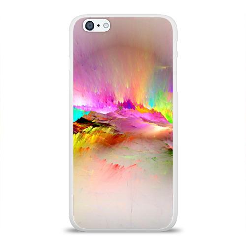 Чехол для Apple iPhone 6Plus/6SPlus силиконовый глянцевый  Фото 01, Краски неба