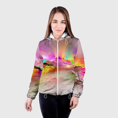 Женская куртка 3D  Фото 03, Краски неба