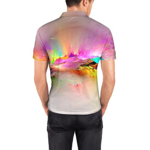 Мужская рубашка поло 3D  Фото 04, Краски неба