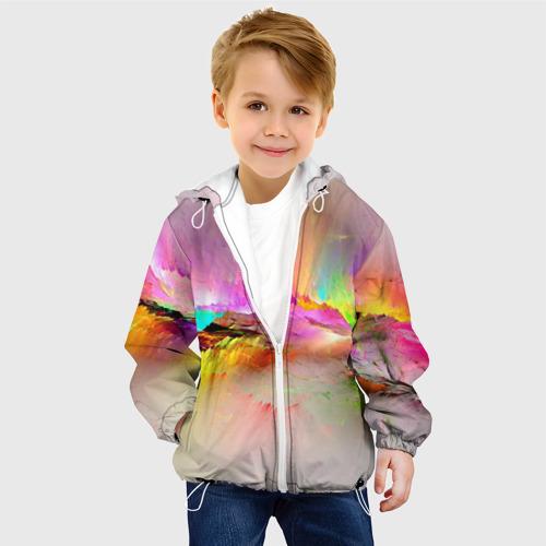 Детская куртка 3D  Фото 03, Краски неба