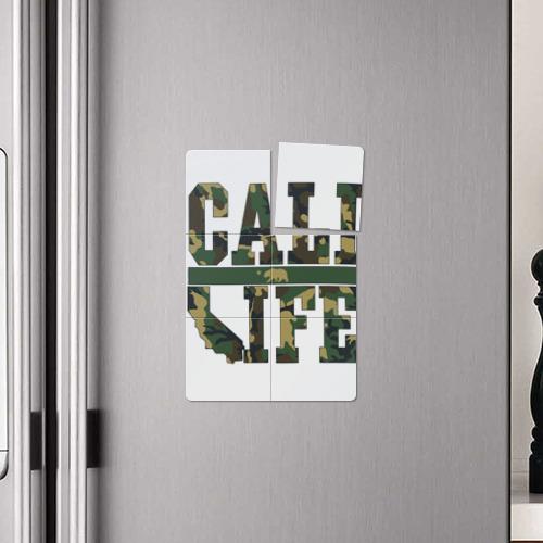 Магнитный плакат 2Х3  Фото 04, California Life