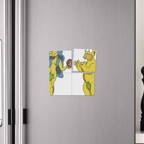 Магнитный плакат 2Х2  Фото 04, Симпсоны