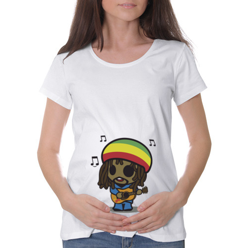 Футболка для беременных хлопок  Фото 01, Reggae