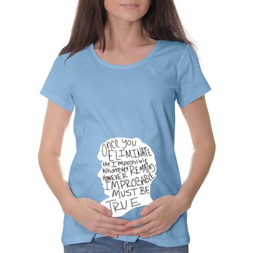Футболка для беременных хлопок  Фото 01, Шерлок