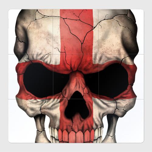 Магнитный плакат 3Х3 Череп - крест