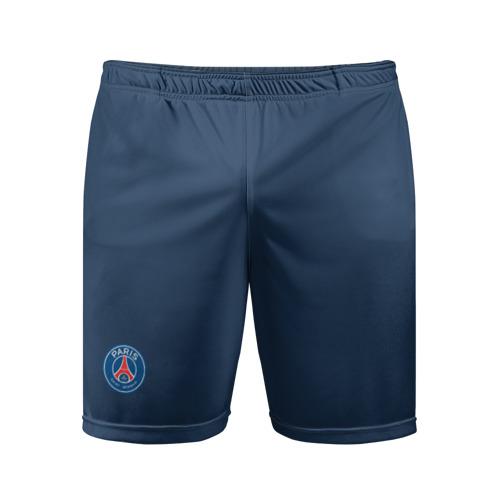 Мужские шорты 3D спортивные ПСЖ