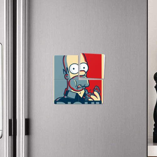 Магнитный плакат 2Х2  Фото 04, Гомер