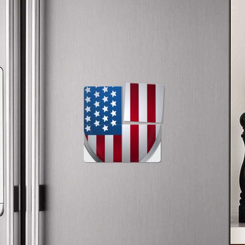 Магнитный плакат 2Х2  Фото 04, USA