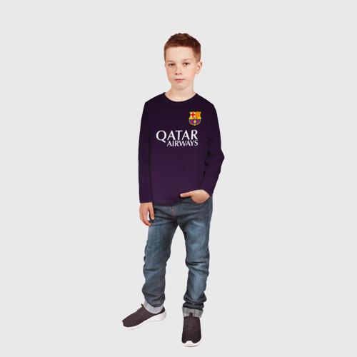 Детский лонгслив 3D Barca Messi Фото 01