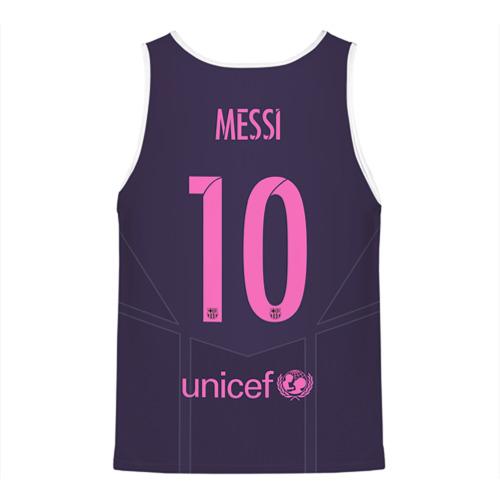 Мужская майка 3D  Фото 02, Barca Messi 1