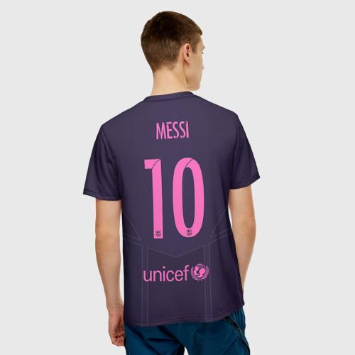 Мужская футболка 3D  Фото 02, Barca Messi 1