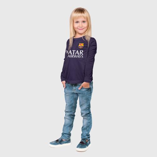 Детский лонгслив 3D Barca Messi 1 Фото 01