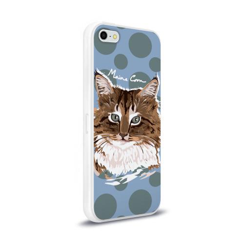 Чехол для Apple iPhone 5/5S силиконовый глянцевый  Фото 02, Мейн-Кун