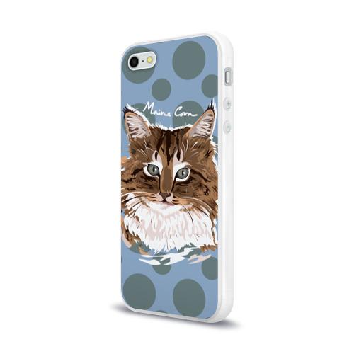 Чехол для Apple iPhone 5/5S силиконовый глянцевый  Фото 03, Мейн-Кун