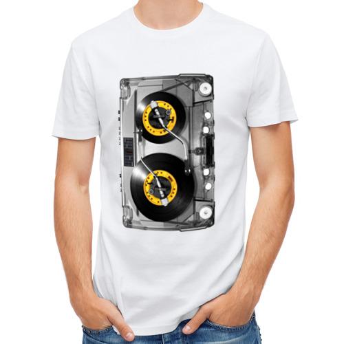 Мужская футболка полусинтетическая  Фото 01, Кассета