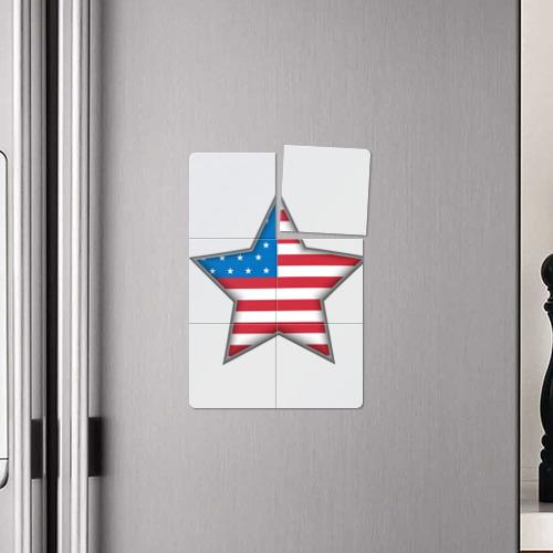 Магнитный плакат 2Х3  Фото 04, USA Star