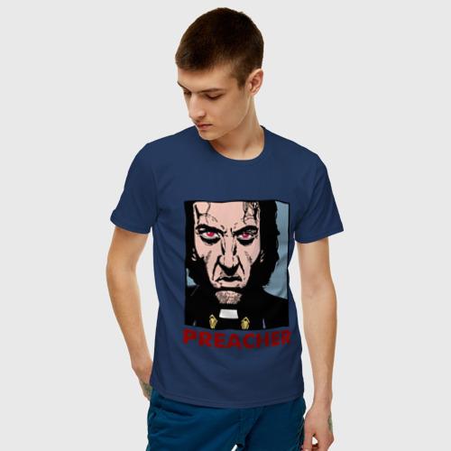 Мужская футболка хлопок  Фото 03, Причер