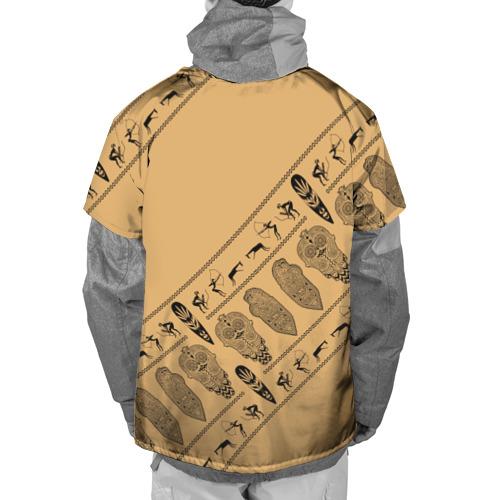 Накидка на куртку 3D  Фото 02, Tribal