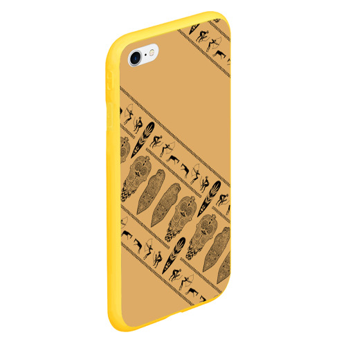 Чехол для iPhone 6/6S Plus матовый Tribal Фото 01