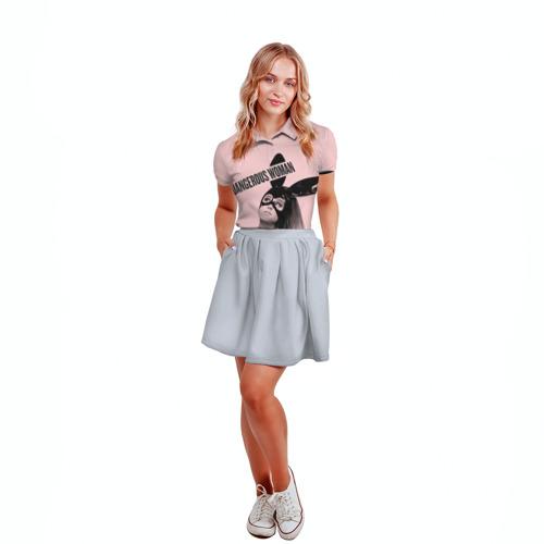 Женская рубашка поло 3D  Фото 04, Ariana Grande