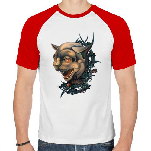 Мужская футболка реглан  Фото 01, old school